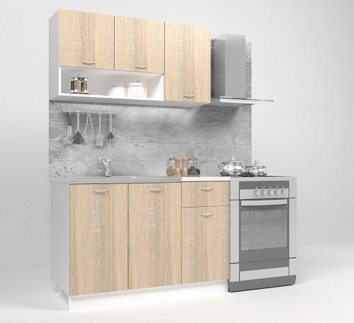 Кухненски комплект Bertha 1.2m /с включен плот/